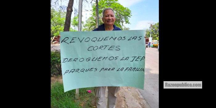 Marchas contra las Cortes