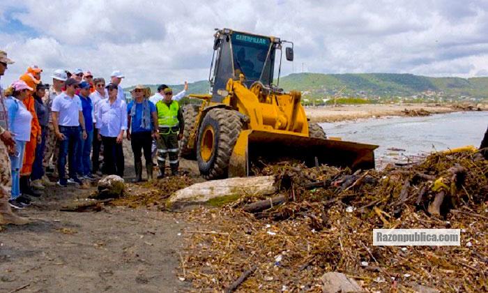 En tiempos del calentamiento global se deben tomar medidas para proteger nuestros ríos y playas antes de que ocurran las tragedias.