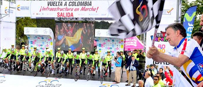 Santos y el deporte en su gobierno como un medio para fortalecer el proceso de paz y la reconciliación.