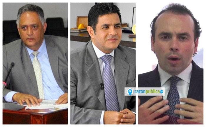 Roberto Ortiz, Jorge Iván Ospina y Alejandro Éder, candidatos a la alcaldía de Cali