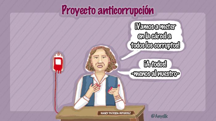 Proyecto anticorrupción del gobierno