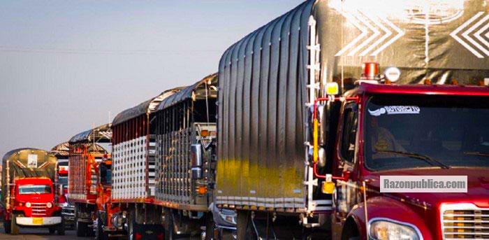El gremio camionero ha sido uno de los más afectados con el cierre de la vía al Llano.