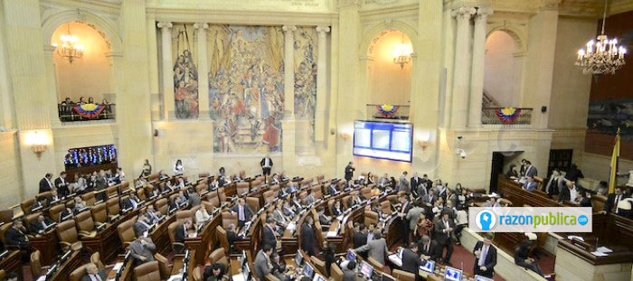 Es la segunda vez que Mancuso habla para el Congreso de la República