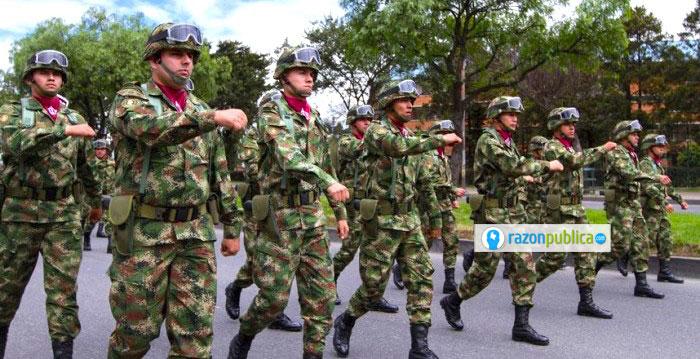 El ejército colombiano está enfrentando una transición.
