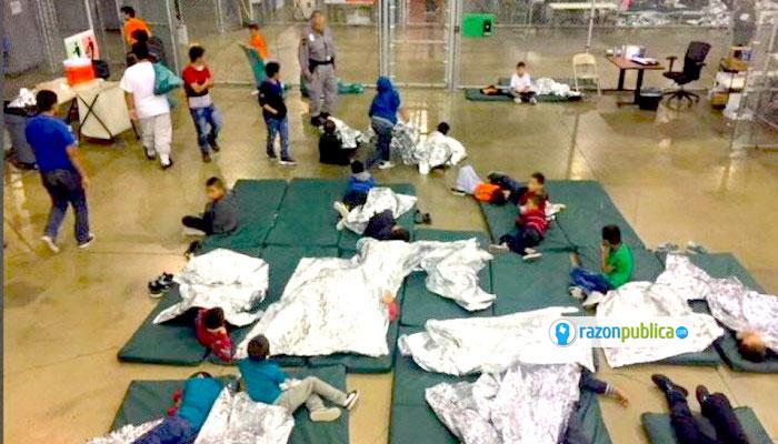 Centro de detención de migrantes.