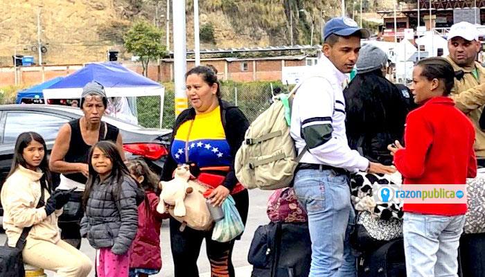 La situación de los migrantes venezolanos en Colombia no es nada facil.