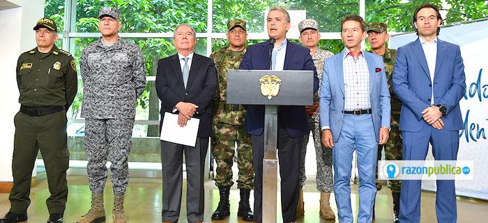 Ni el presidente Iván Duque ni el ministro de defensa Guillermo Botero han sabido manejar bien la crisis producida por la publicación del New York Times.