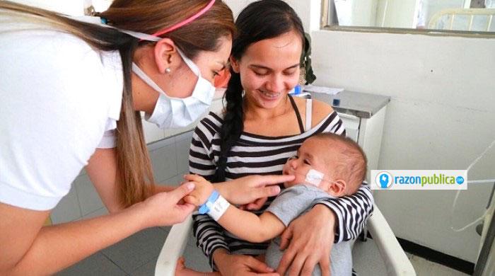 Muchas mujeres venezolanas embarazadas han llegado a solicitar atención médica.