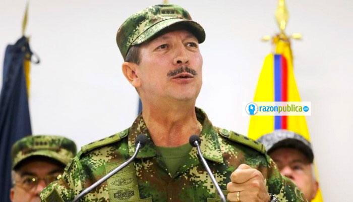 El actual comandante del ejército, General Nicacio Martínez, ha enfrentado escándalos por cuenta de las directrices que pedían entre otras, aumentar las bajas.
