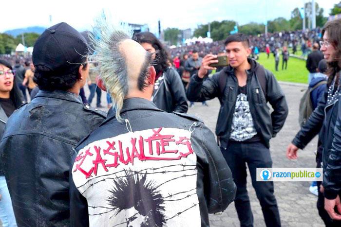Rock al Parque no es solo un festival de música, es un encuentro de culturas Punk