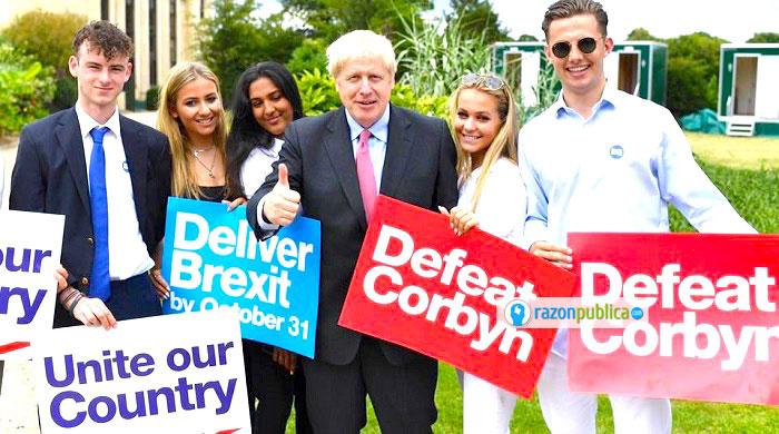 Desde su campaña Johnson ha sido un duro promotor del Brexit.