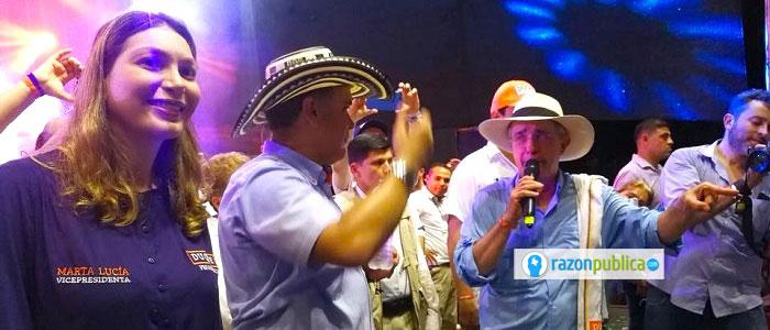 Iván Duque y Álvaro Uribe.