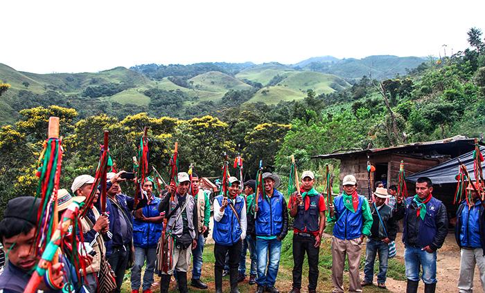 La Guardia Indígena del Norte del Cauca