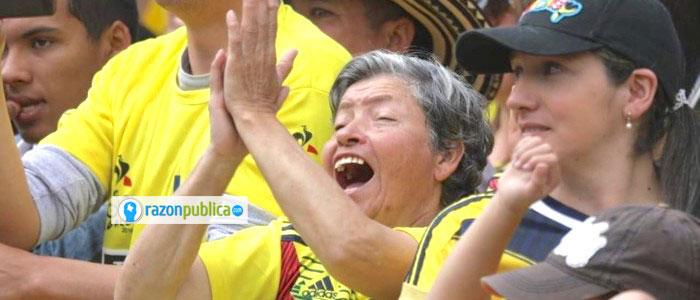 Hinchas colombianos en partidos de la selección, juegos panamericanos 2019