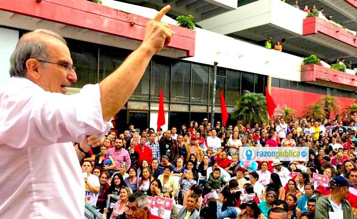 En las votaciones de 2018, Humberto de la Calle no alcanzó ni los 400 mil votos en primera vuelta.