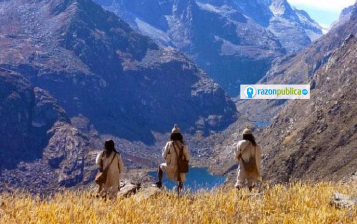 La Sierra Nevada se ha visto afectada por los proyectos de desarrollo que dicen necesitar los territorios que están demarcados por la línea negra.