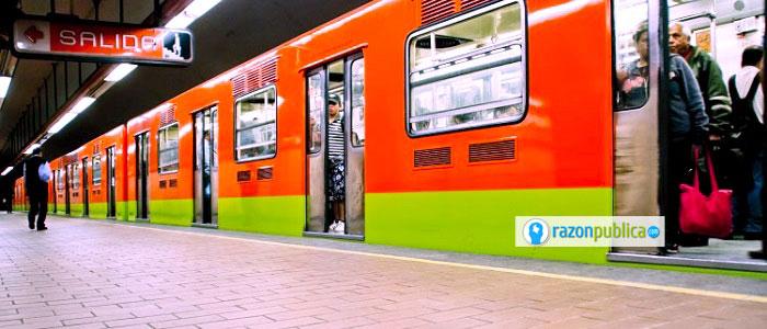Metro de México.