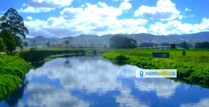 Nacimiento del Río Bogotá.