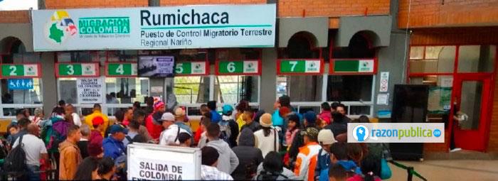 Desde el 26 de agosto Ecuador les solicitará visa humanitaria a los venezolanos para ingresar a su territorio.