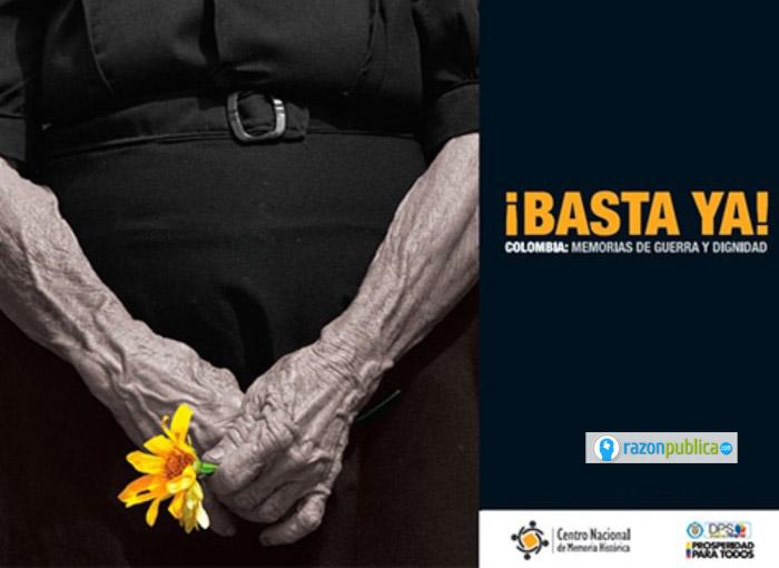 Informe Basta Ya, blanco de críticas del actual director del CNMH.