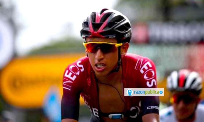 Egan Bernal, ganador del Tour de Francia.