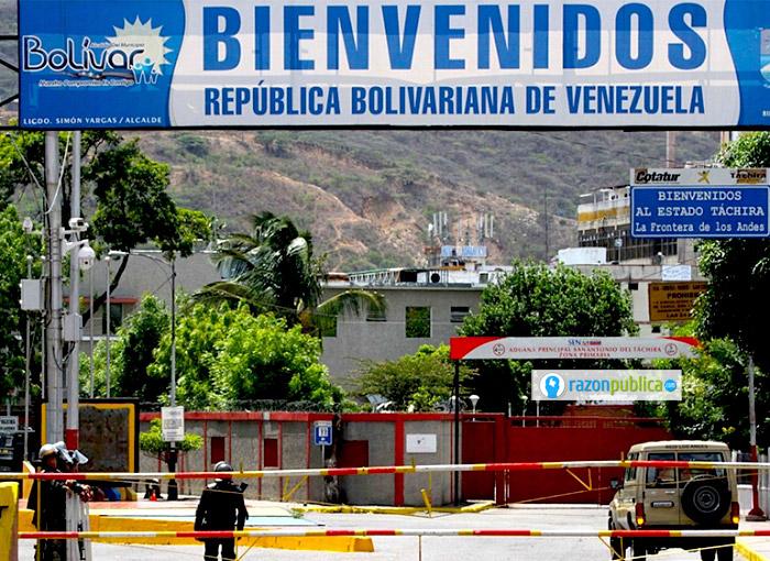 Frontera con Venezuela.