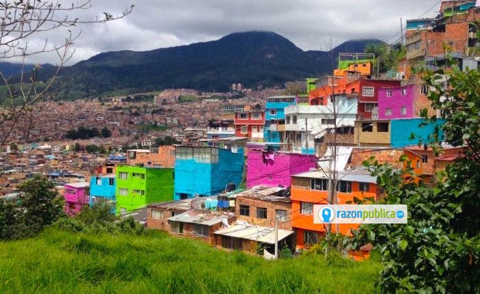 En los últimos años ha crecido el número de viviendas construidas informalmente en Bogotá.