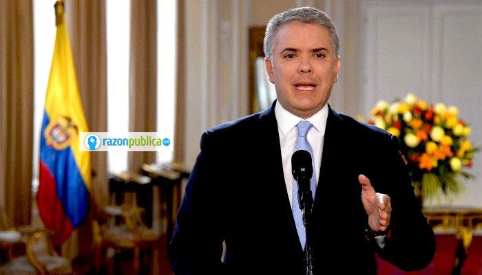 Declaración de Iván Duque luego de la transmisión del video de Iván Márquez.