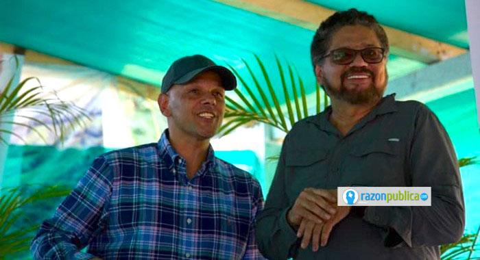 Iván Márquez y El Paisa aún haciendo parte del proceso de paz.