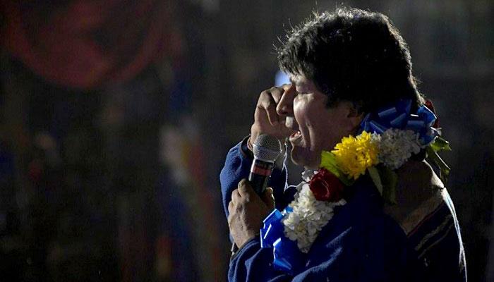 Los resultados finales se dieron el pasado viernes dándole la victoria a Evo Morales con el 47,8%.