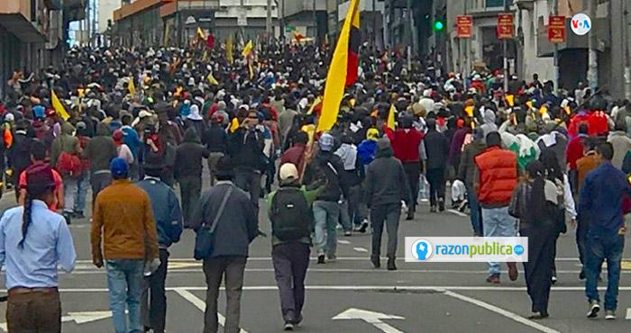 Las protestas en Ecuador llevan días y podrían acabar con la salida del presidente Lenín Moreno.