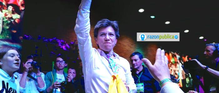 Claudia López se convirtió en la primera mujer en llegar al Palacio Liévano.