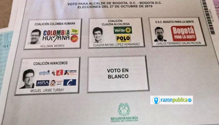 La diferencia entre López y Galán fue de menos del 3 por ciento