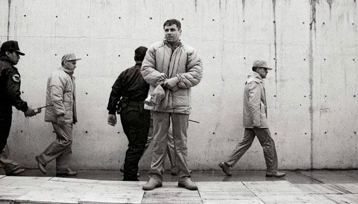 Chapo Guzmán, captura en 1993.