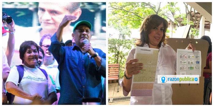 En Cali y el Valle del Cauca ganaron Ospina que repite alcaldía y la candidata de la baronesa Dilian Francisca Toro.