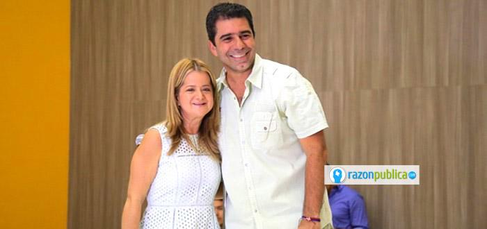 Elsa Noguera llegará a la Gobernación del Atlántico con una amplia mayoría y el apoyo de la poderosa familia Char.