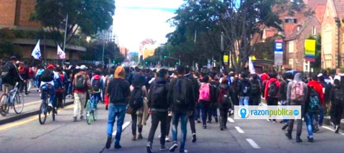 Marcha estudiantil 2019