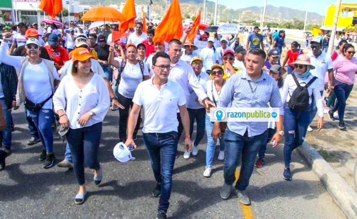 Facebook Carlos Caicedo Otro de los ganadores de 2019, Carlos Caicedo, quien logró destronar a la familia Cotes en Magdalena.