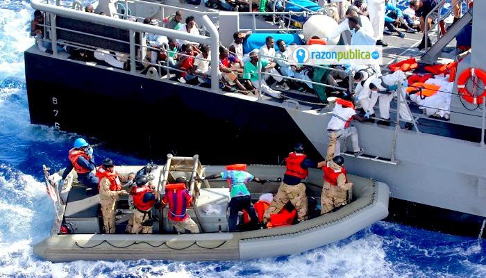 Wikipedia Migrantes sirios.