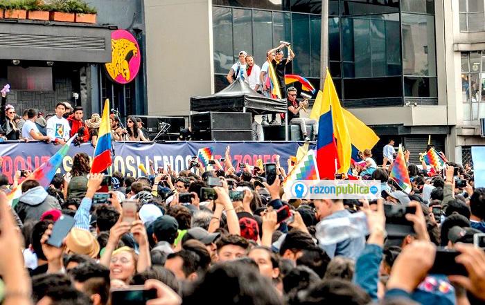 Las actividades culturales en las protestas dieron pie para el inicio de unas nuevas formas de manifestarse.