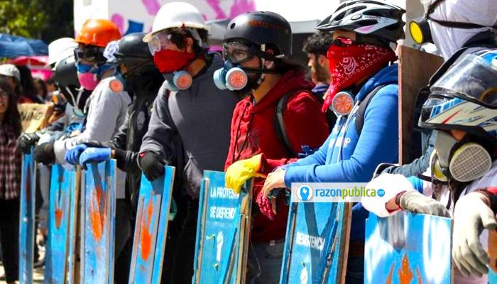 Mr. Universitario La primera línea pretende defender la protesta social.