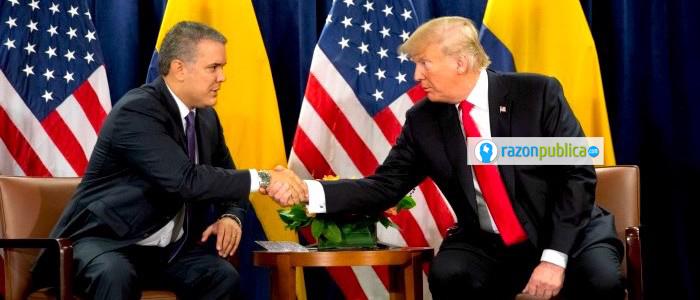 EEUU y Colombia: Drogas y no acuerdo de paz