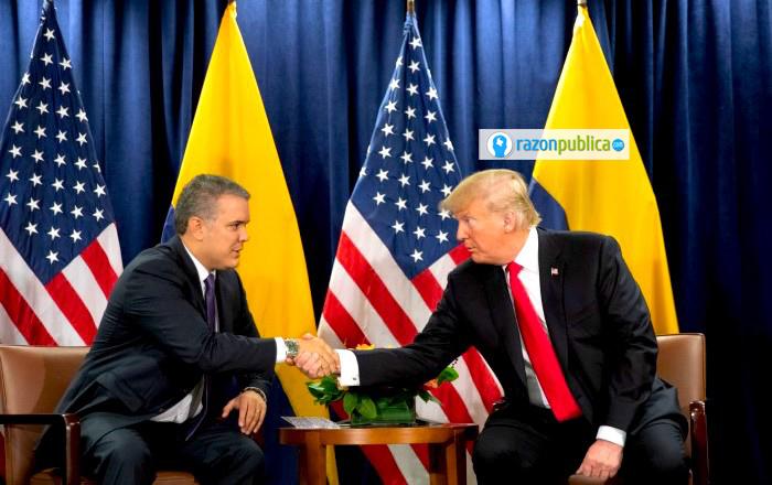 EE.UU y Colombia: drogas y no el acuerdo de paz