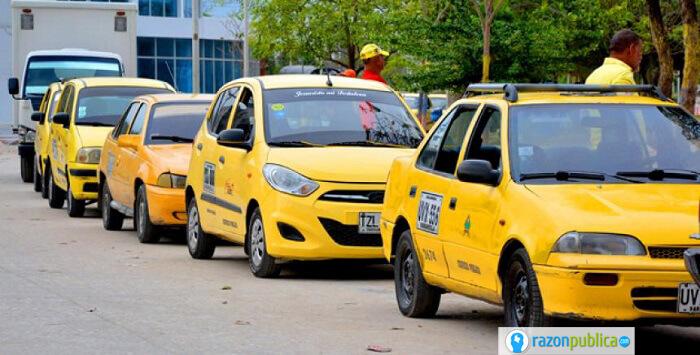 paro nacional de taxis 2020
