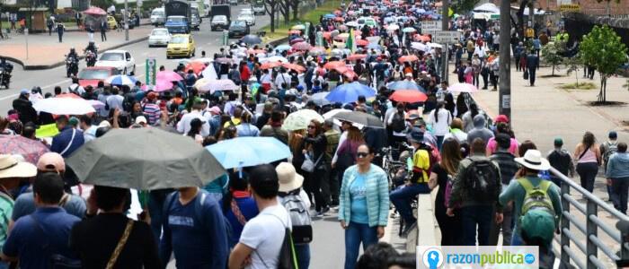 Marchas Bogotá febrero 2020