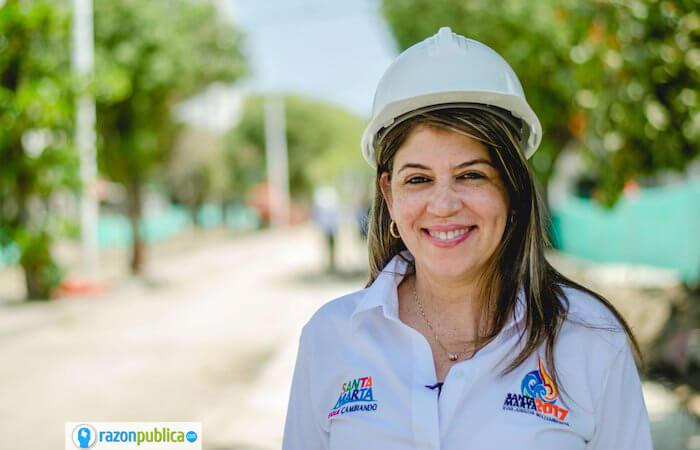 Anuncio Alcaldesa Santa Marta