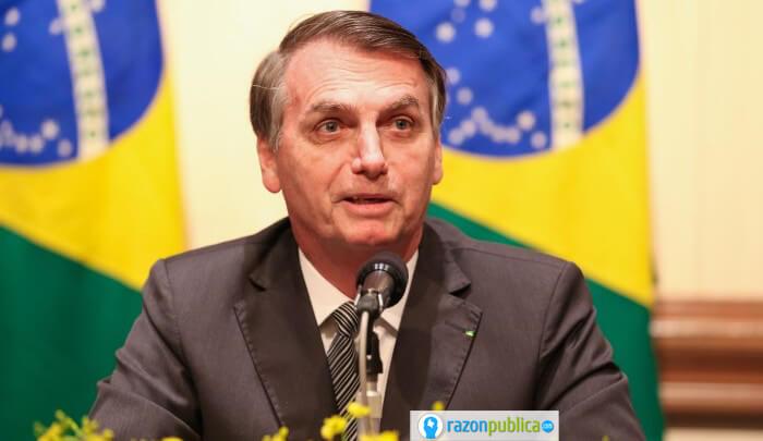 Jaír Bolsonaro, crisis del covid19