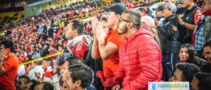 asistencia a los estadios