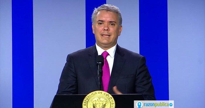 Presidente Iván Duque.