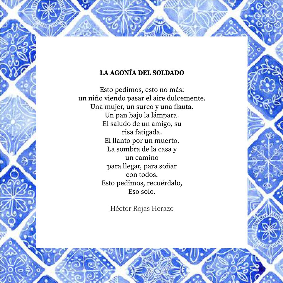 Poema de Héctor Rojas